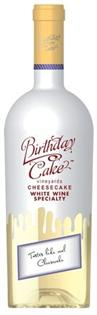 Birthday Cake White Wine Cheesecake 750ml - Case of 12